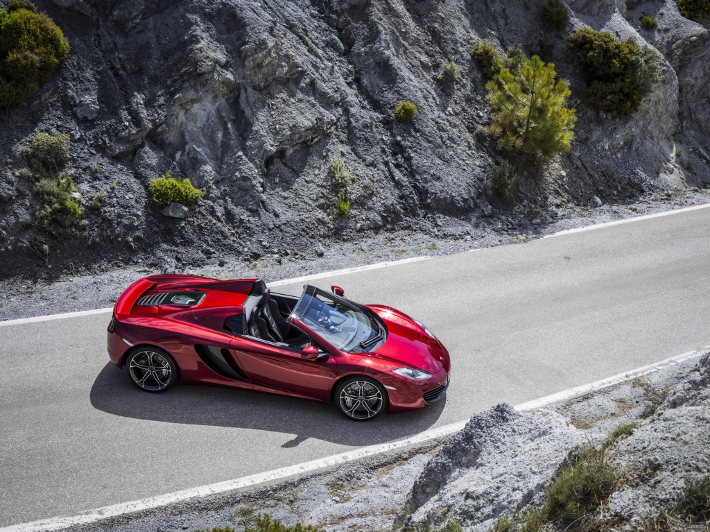 Mclaren MP4-12C Spider Video