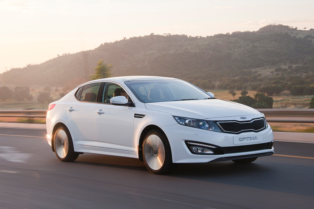 The Kia Optima - The Korean Assault Continues