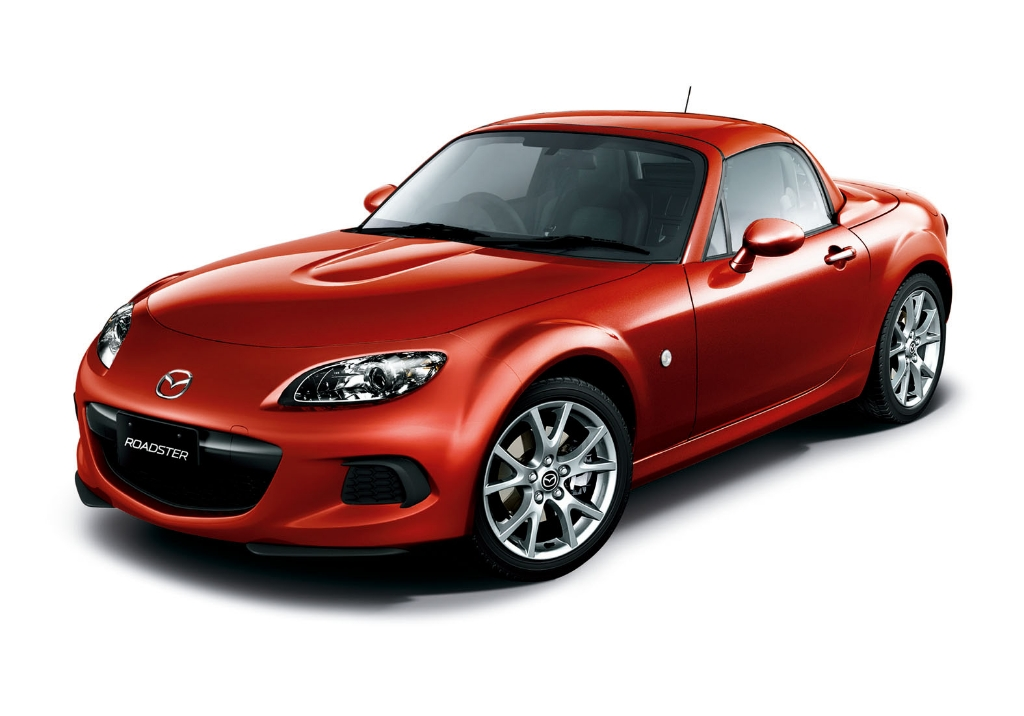 The 2012 Mazda MX-5 Roadster