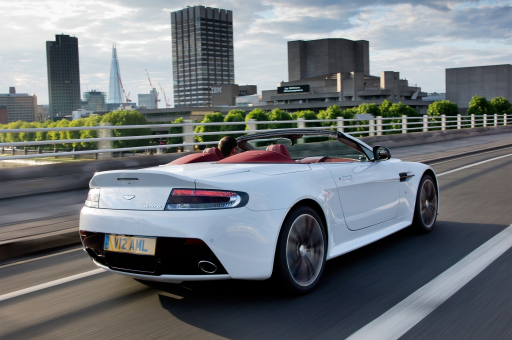 The Potent Open-Top Aston Martin V12 Vantage Roadster
