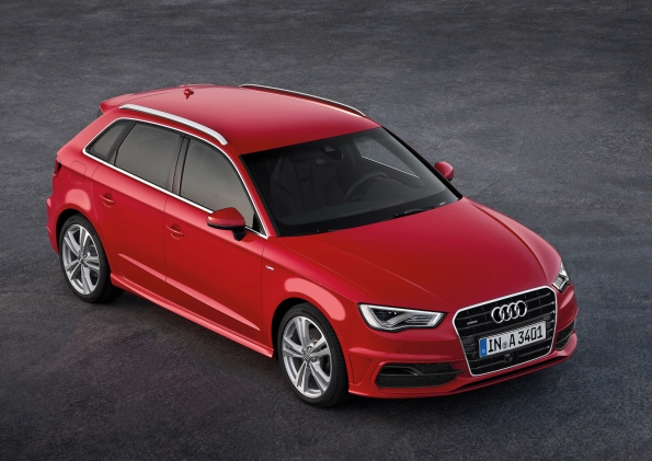 2013 Audi A3 Sportback Breaks Cover - Video Included