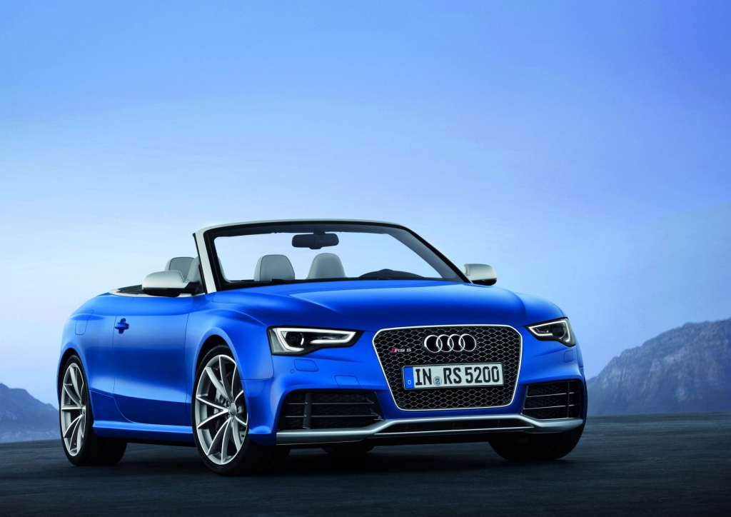 The Audi RS5 Cabrio At A Glance