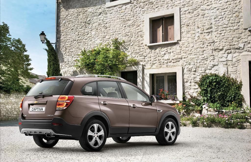 New Chevrolet Captiva SUV to Debut in Geneva