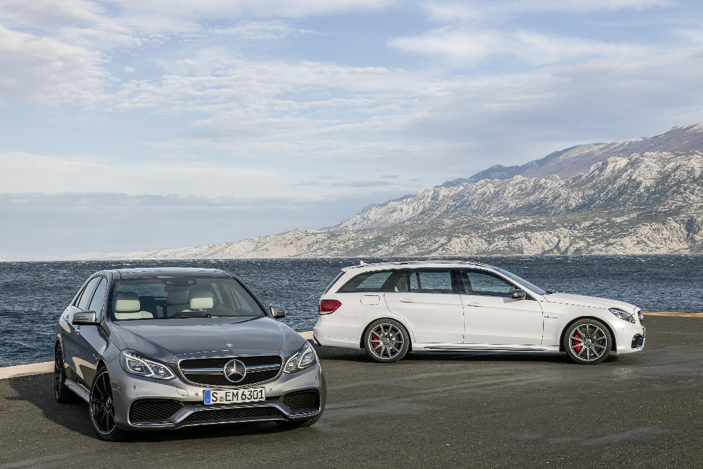 The 2013 Mercedes-Benz E63 AMG Sedan and Wagon [With Video]