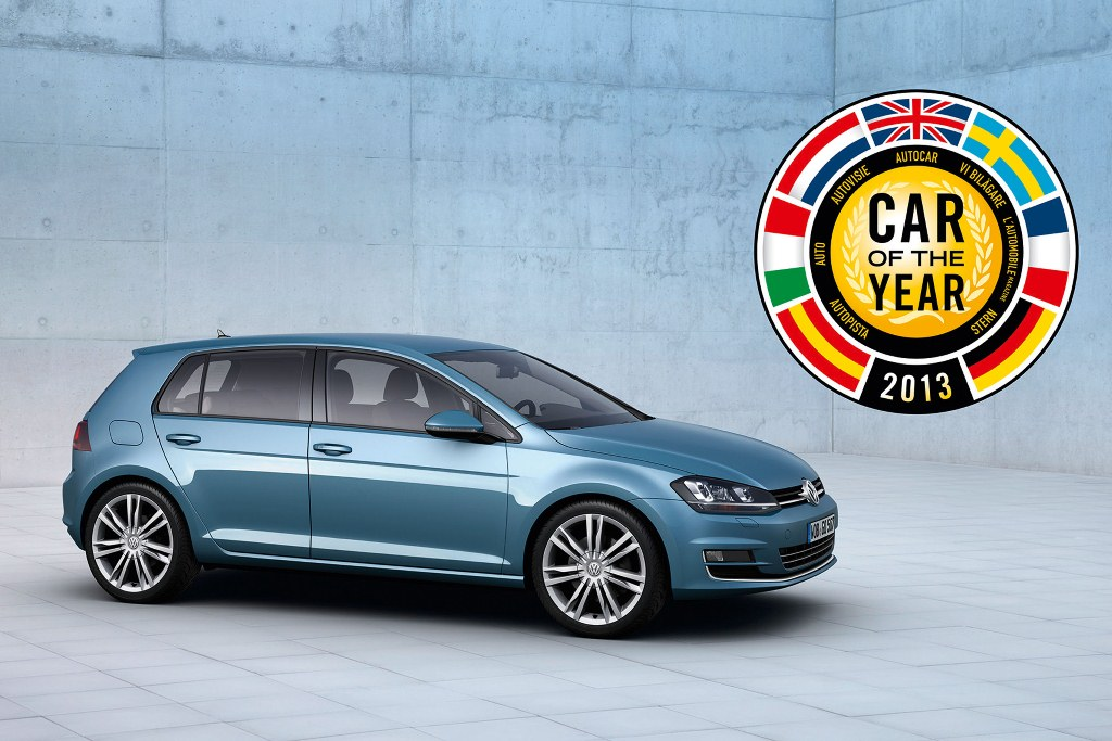 VW Golf VII Named Europe's Car of The Year
