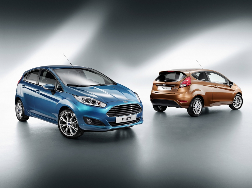 Redesigned 2013 Ford Fiesta Revealed