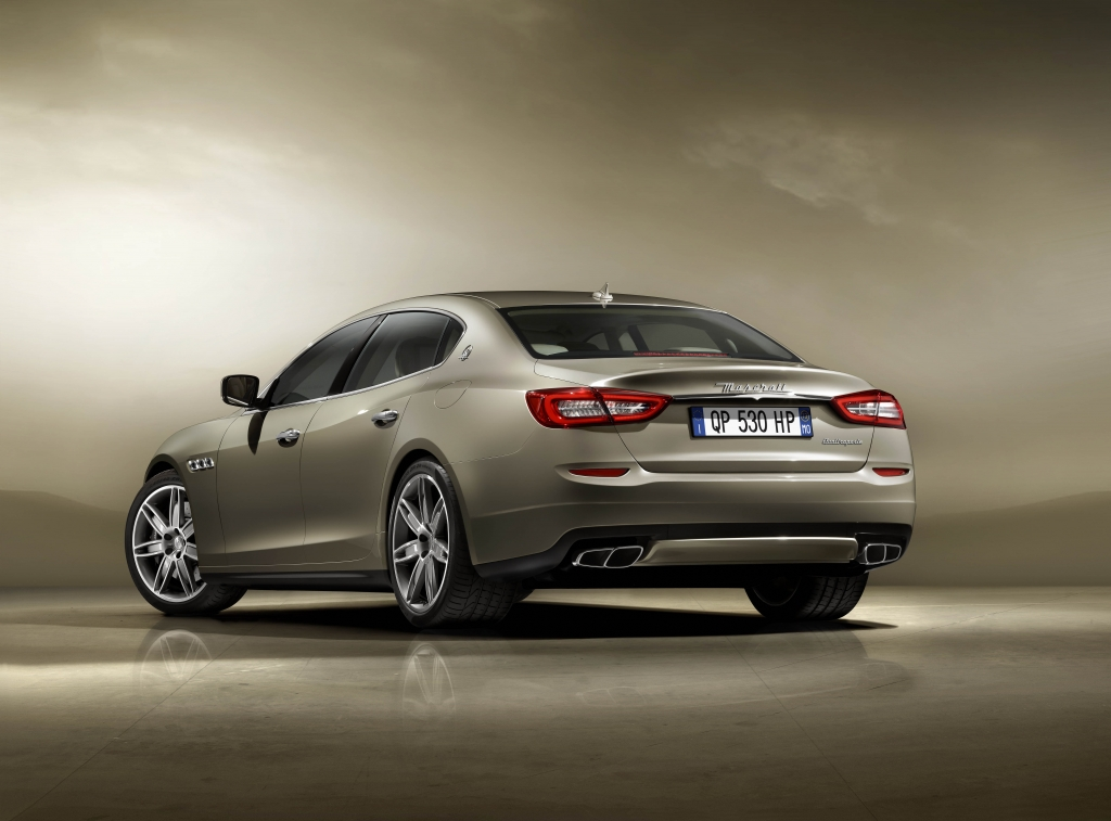 The New 2013 Maserati Quattroporte