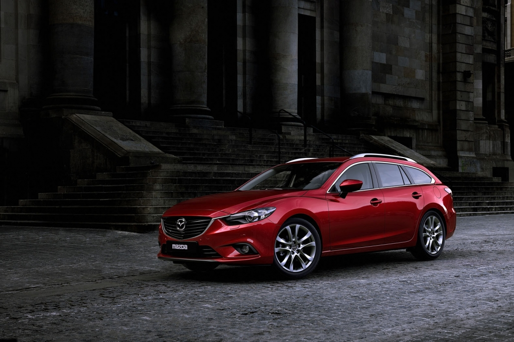 Mazda 6 Wagon To Premier At 2012 Paris Motor Show