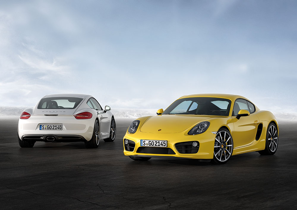 The New Porsche Cayman Sports Coupe