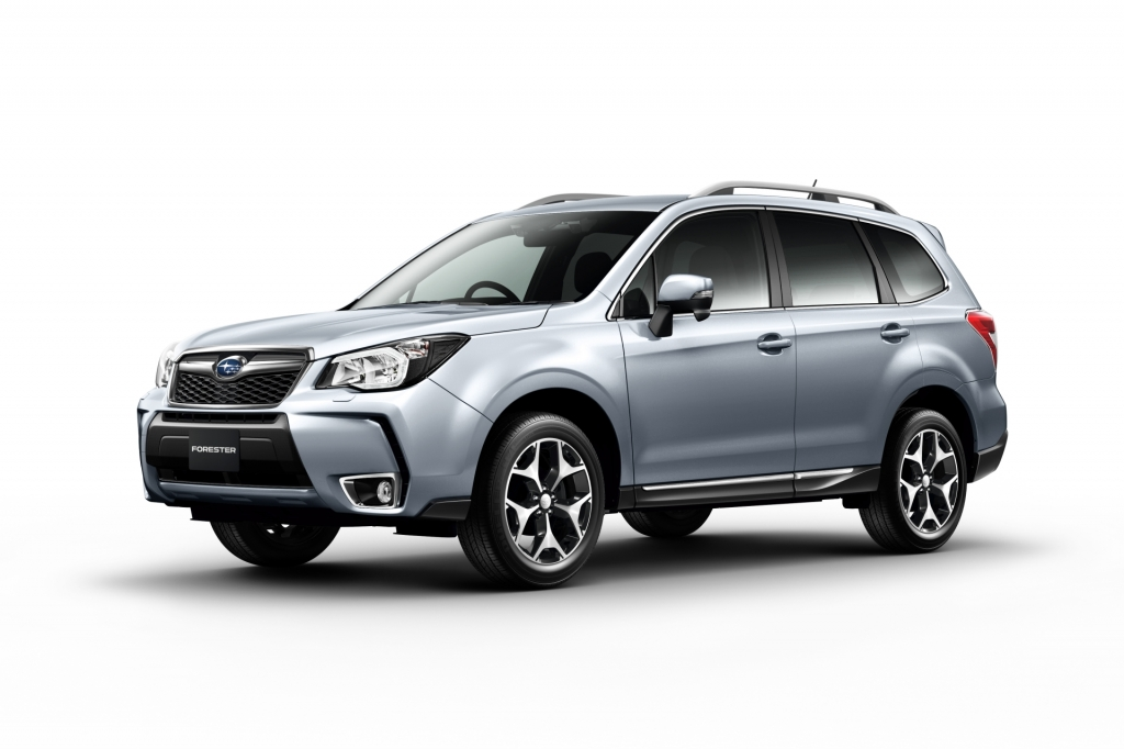 Fourth Generation Subaru Forester To Premier on November 13
