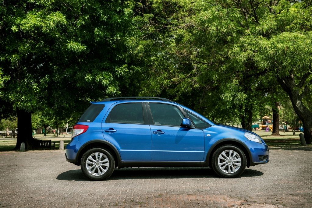 Suzuki SX4 Receives a Makeover