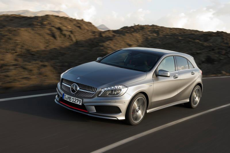 Mercedes-Benz A-Class: Lucky Few Get Sneak Preview in East London
