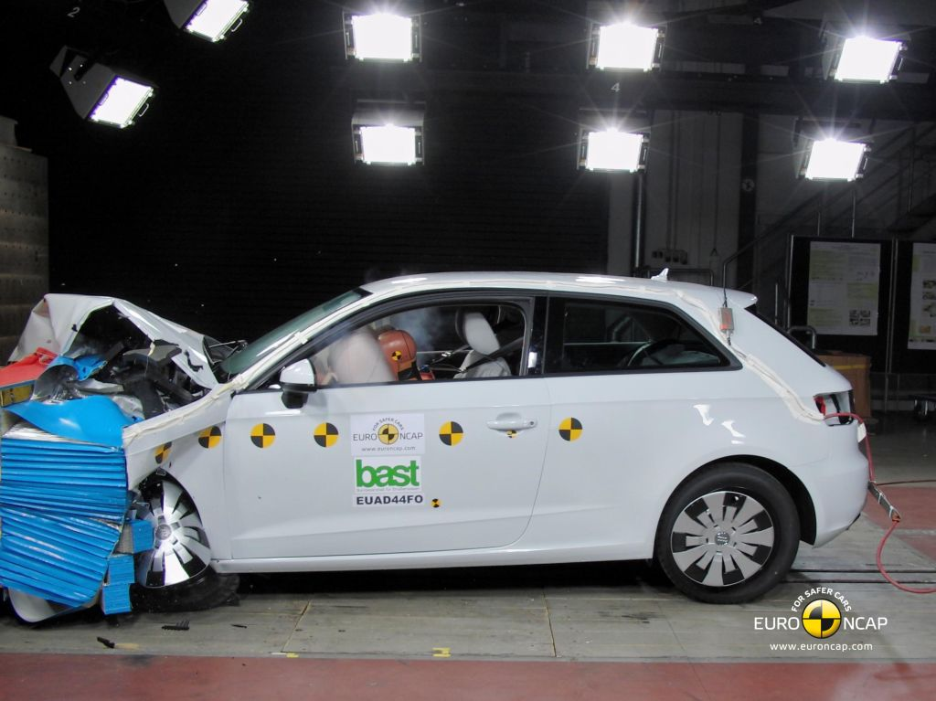 2013 Audi A3 Achieves 5 Star Euro NCAP Safety Rating