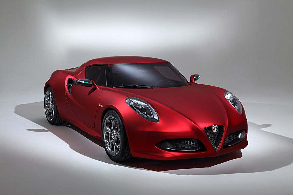 Alfa Romeo 4C To Be Launched in 2013