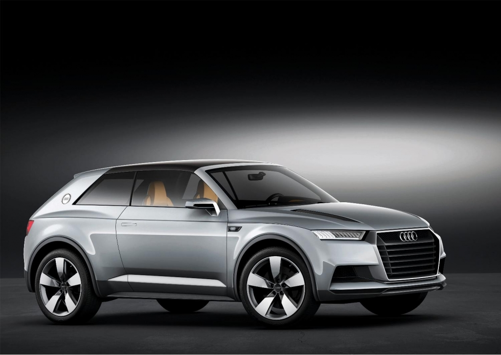 Audi Crosslane Coupé Concept [with Video]