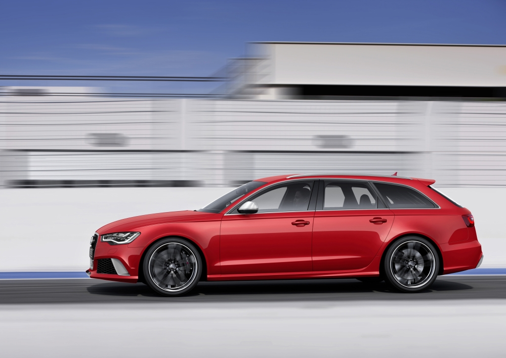 New Audi RS6 Avant: Improved Performance, Lighter and More Efficient