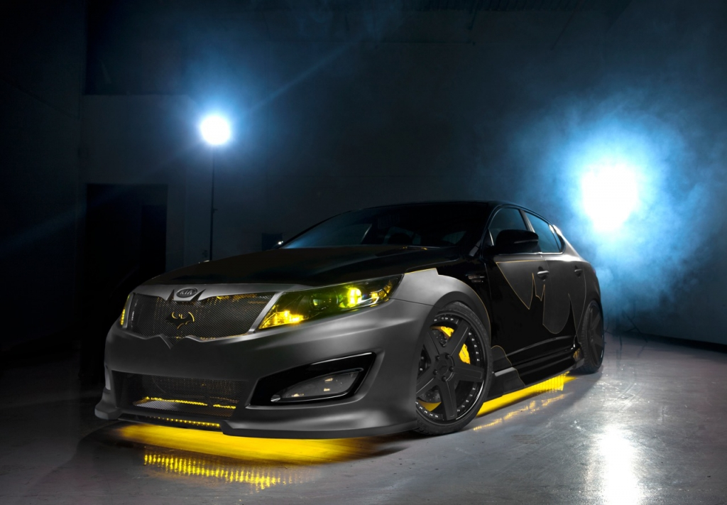 Batman Inspired Kia Optima
