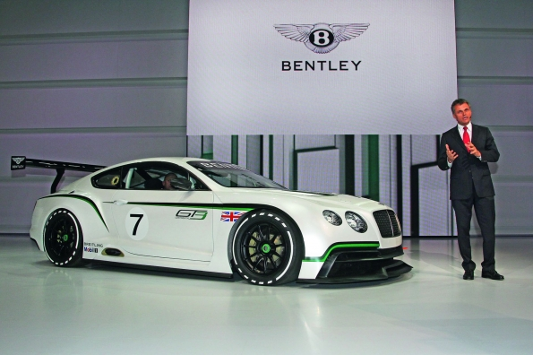 Bentley Continental Gt3 Concept Unveiled