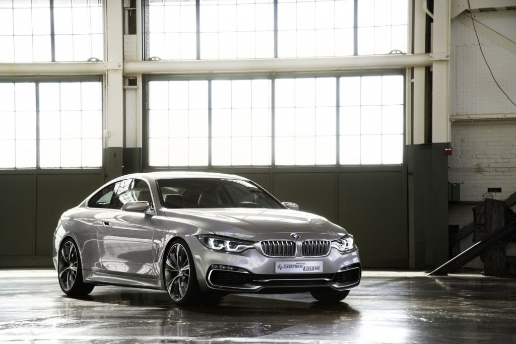 More Detailed Info on the BMW Concept 4 Series Coupe