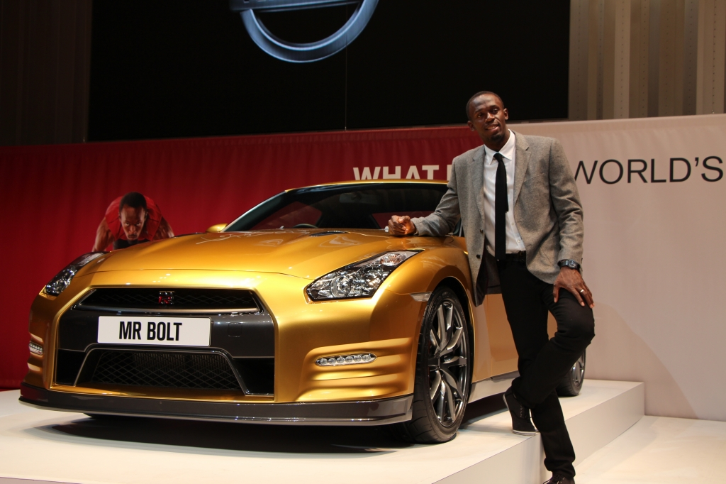 'Bolt Gold' Nissan GT-R to Be Auction on The 22nd of November
