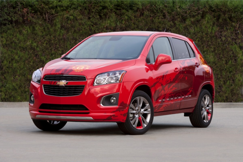 The Premier of the Chevrolet Trax Small SUV - [with video]