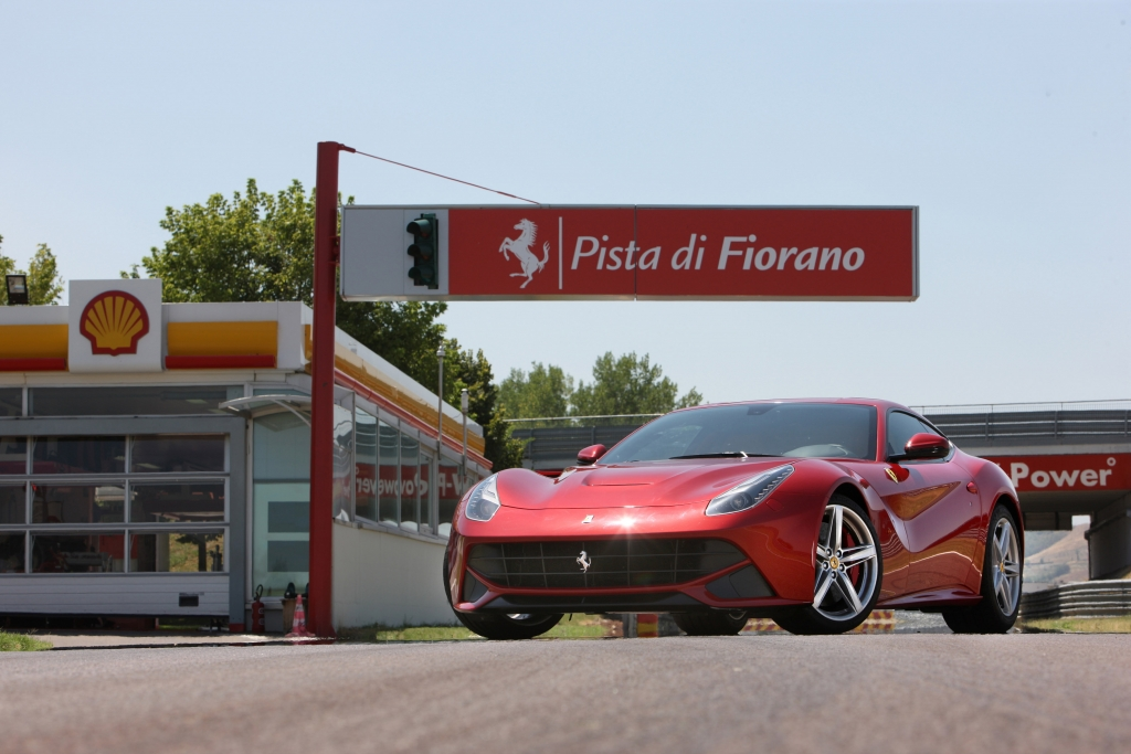 The Ferrari F12 Berlinetta Press Experience