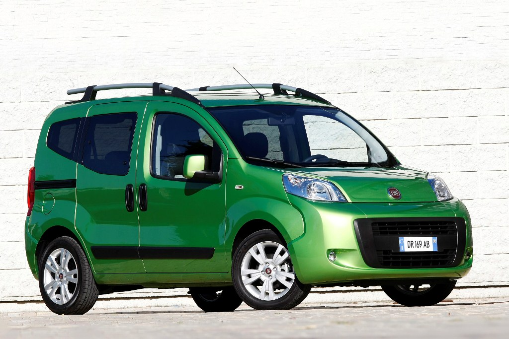 The Fiat Qubo – Fiats New Mom's Taxi