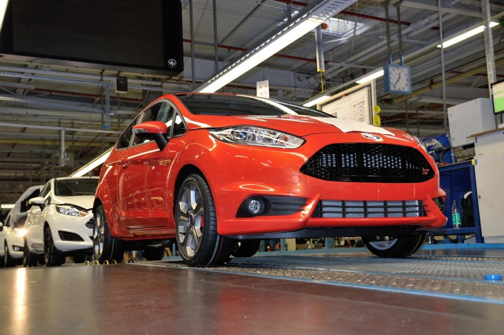Ford Begins Production of Ford Fiesta ST