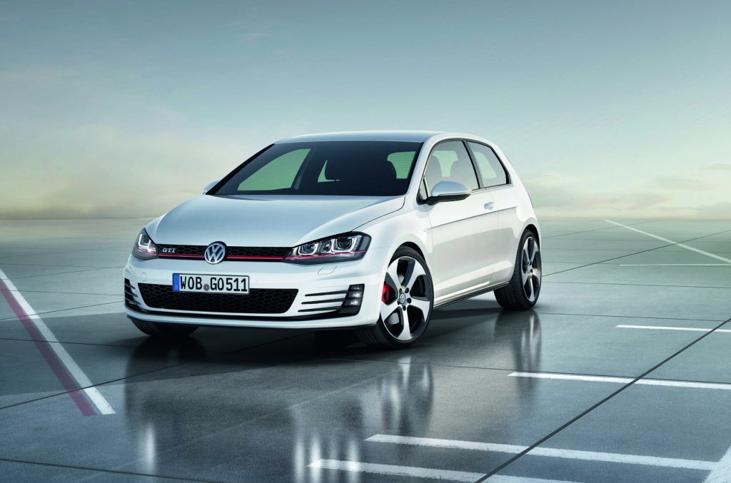 Official Pictures of the New Golf GTI Concept