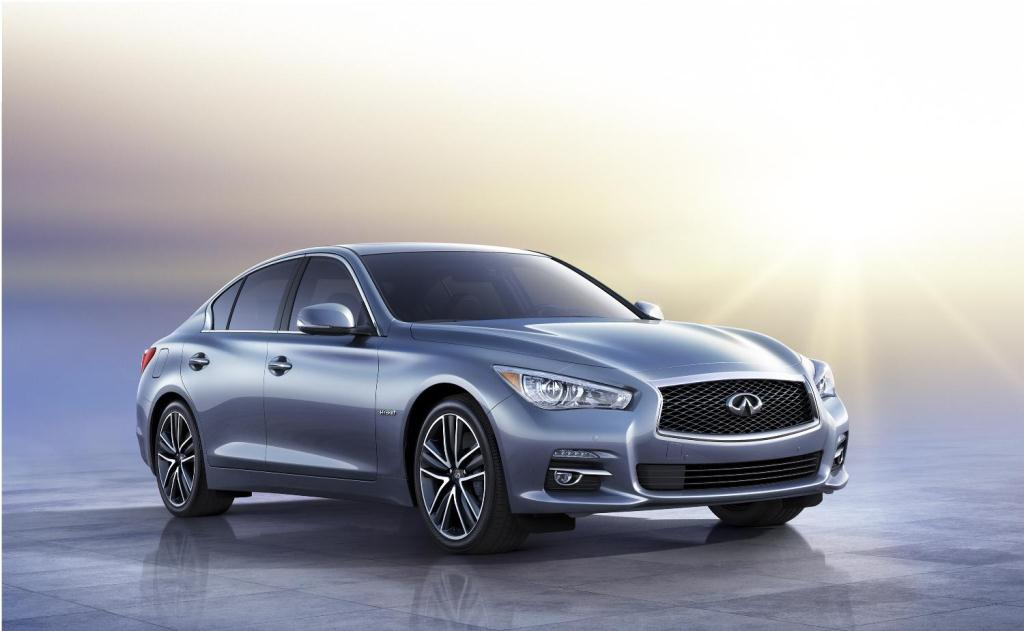 The Infiniti Q50 Sports Saloon