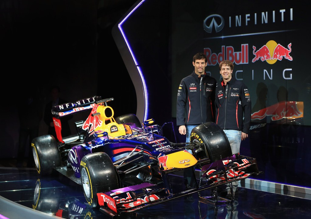 Infiniti Red Bull Racing Launches RB9