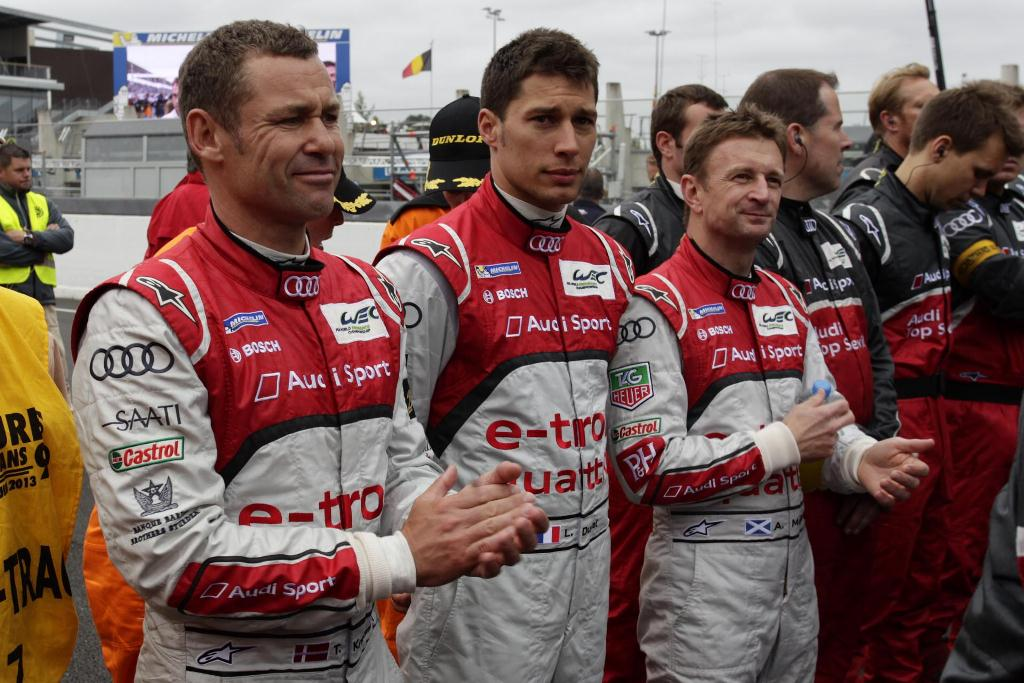 Audi R18 e-tron Quattro Wins at Le Mans