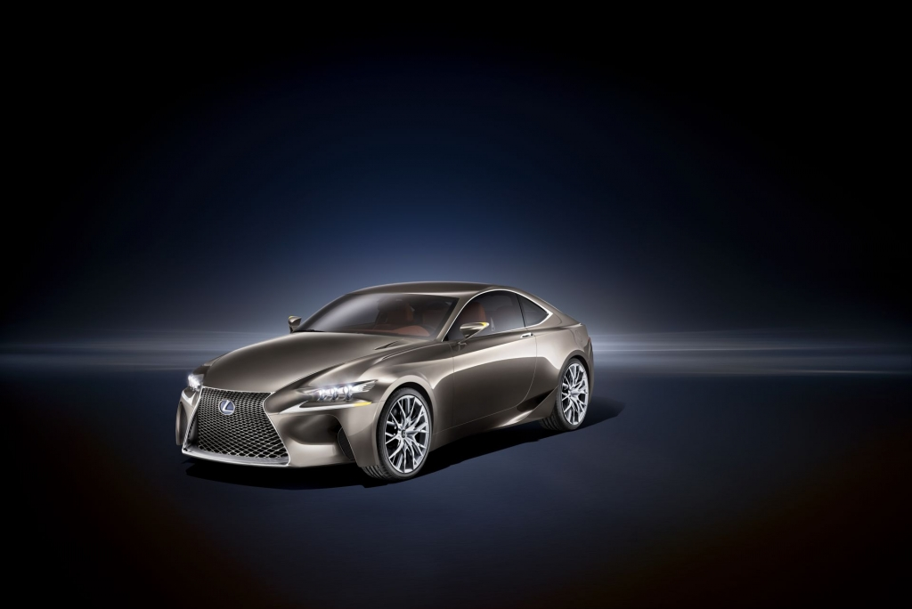 Lexus LF-CC To Premier At Paris Motor Show