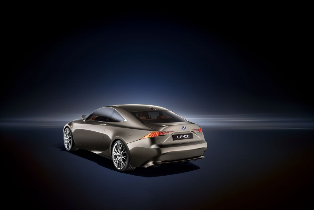 Lexus LF-CC Video