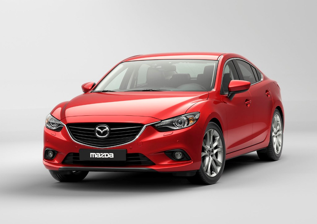Mazda 6 To Be Premi Red At 2012 Moscow Motor Show