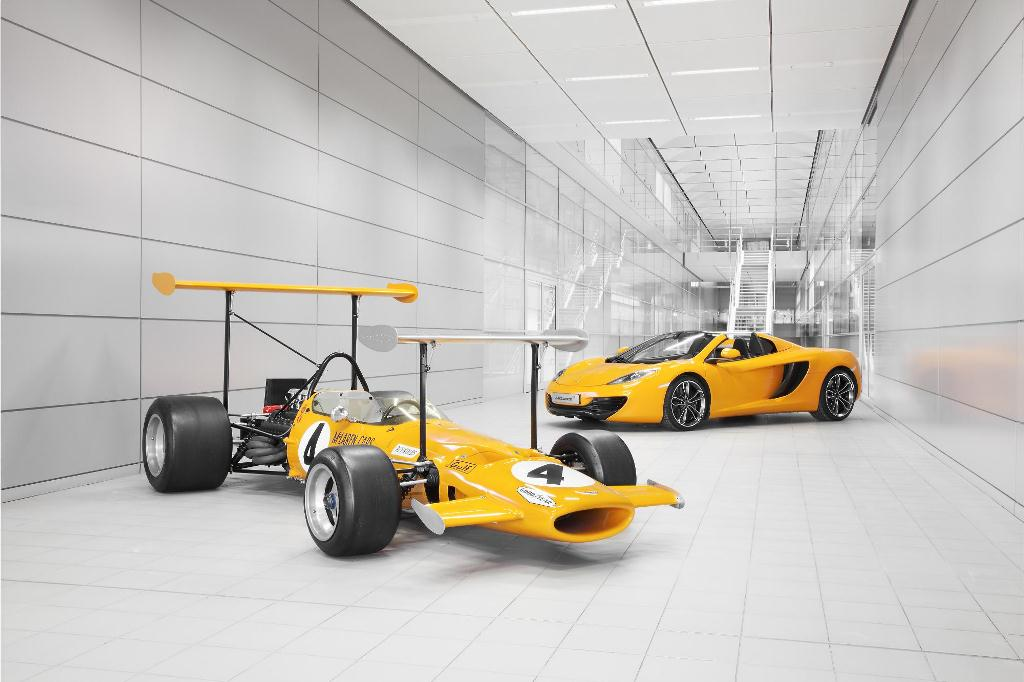 McLaren to Celebrate 50 years this Coming September