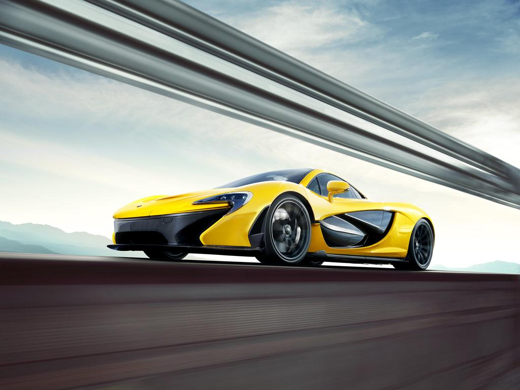 McLaren P1 at the Geneva Motor Show