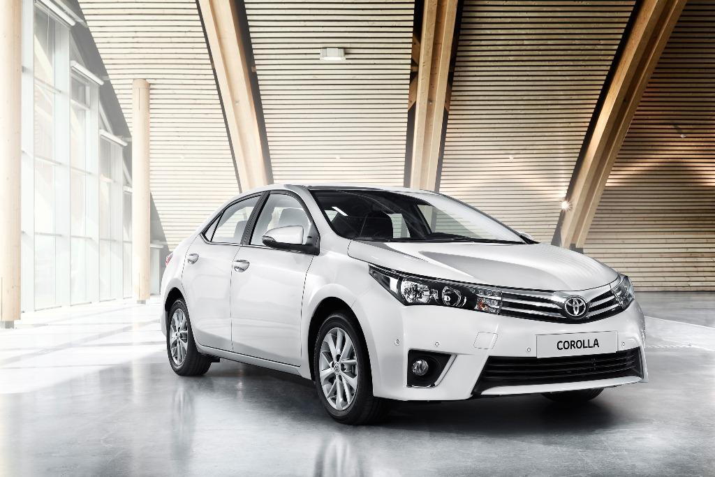 New 2014 Toyota Corolla Unveiled