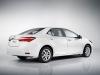 Next year's European-style Corolla sedan. Overseas model shown.
