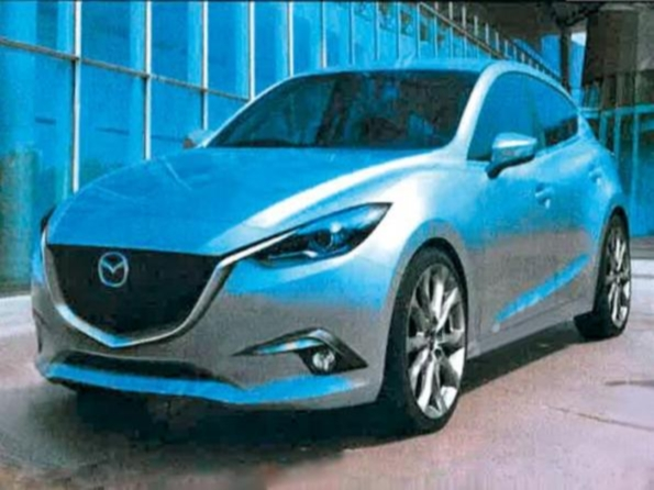 New Mazda 3 Pictures Leaked