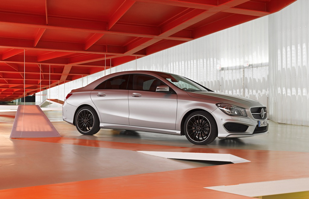 Mercedes-Benz CLA - In a League of Its Own