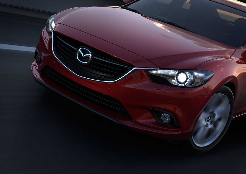 First Official Pictures of New Mazda 6