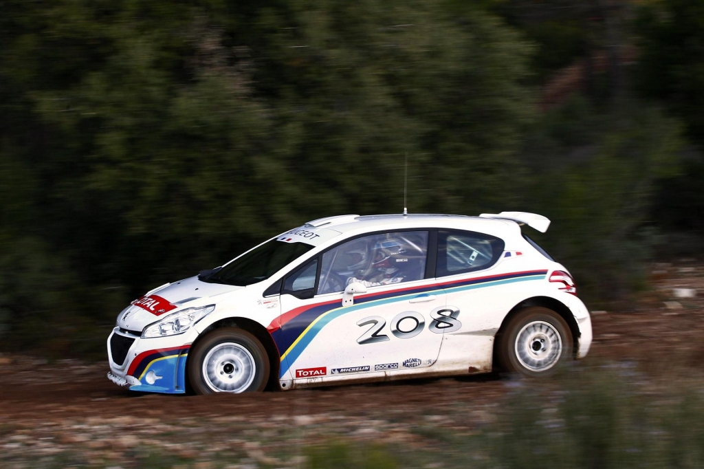 Peugeot 208 Type R5 Successfully Completes First Test Programme