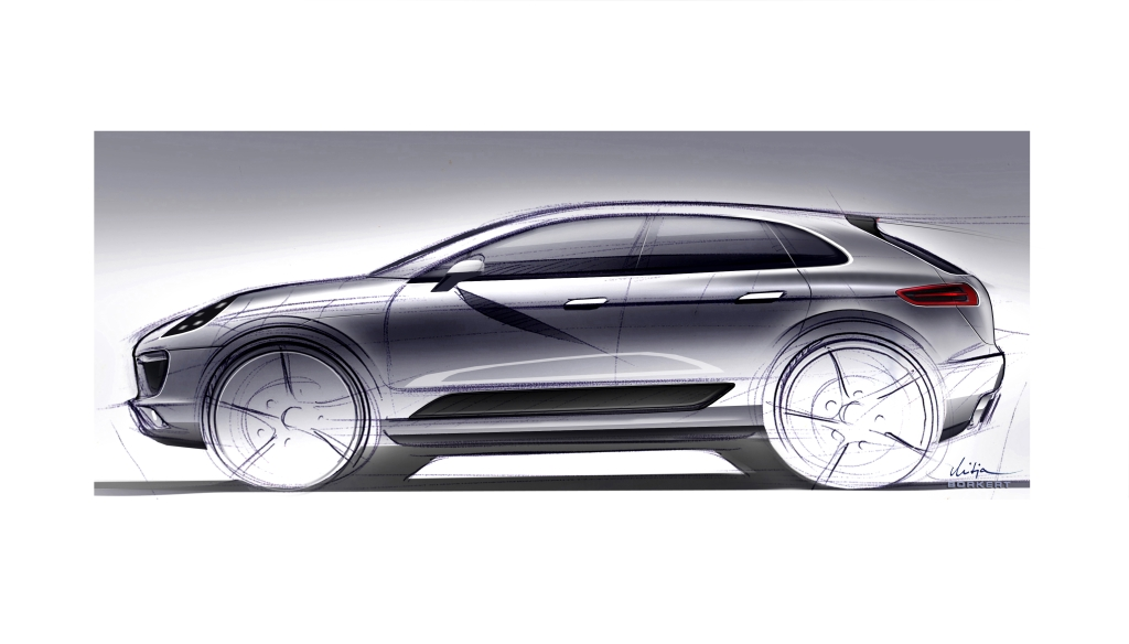 Porsche Macan To Be Debuted At 2013 Frankfurt Motor Show