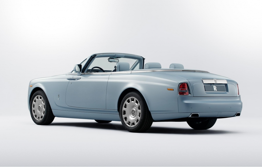 Rolls-Royce Art Deco Inspired Cars Showcased at 2012 Paris Motor Show