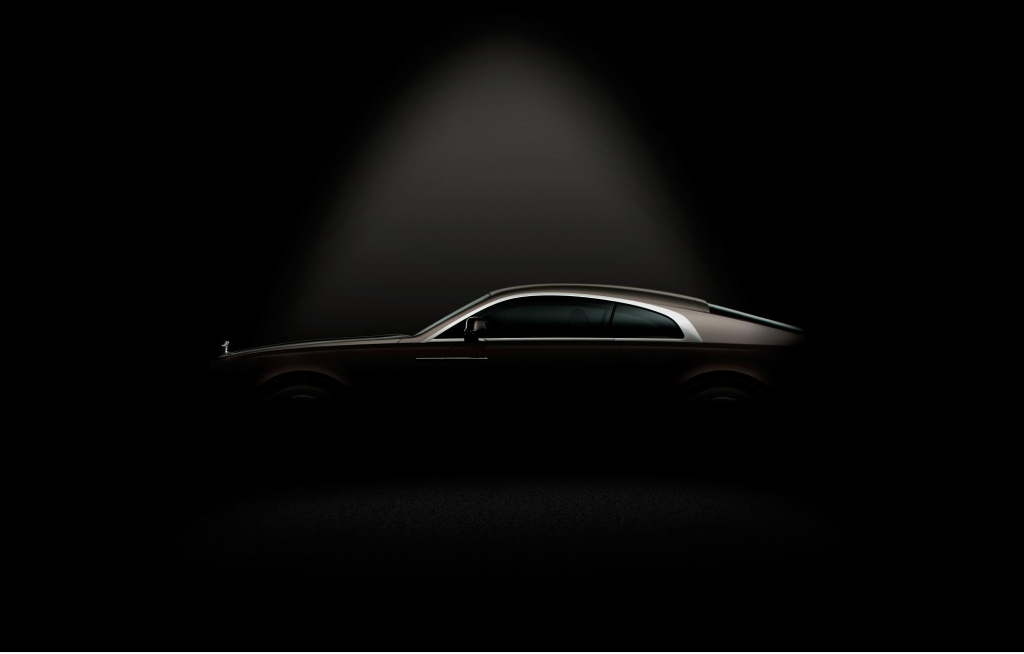 Sneak Peek of the Rolls Royce Wraith