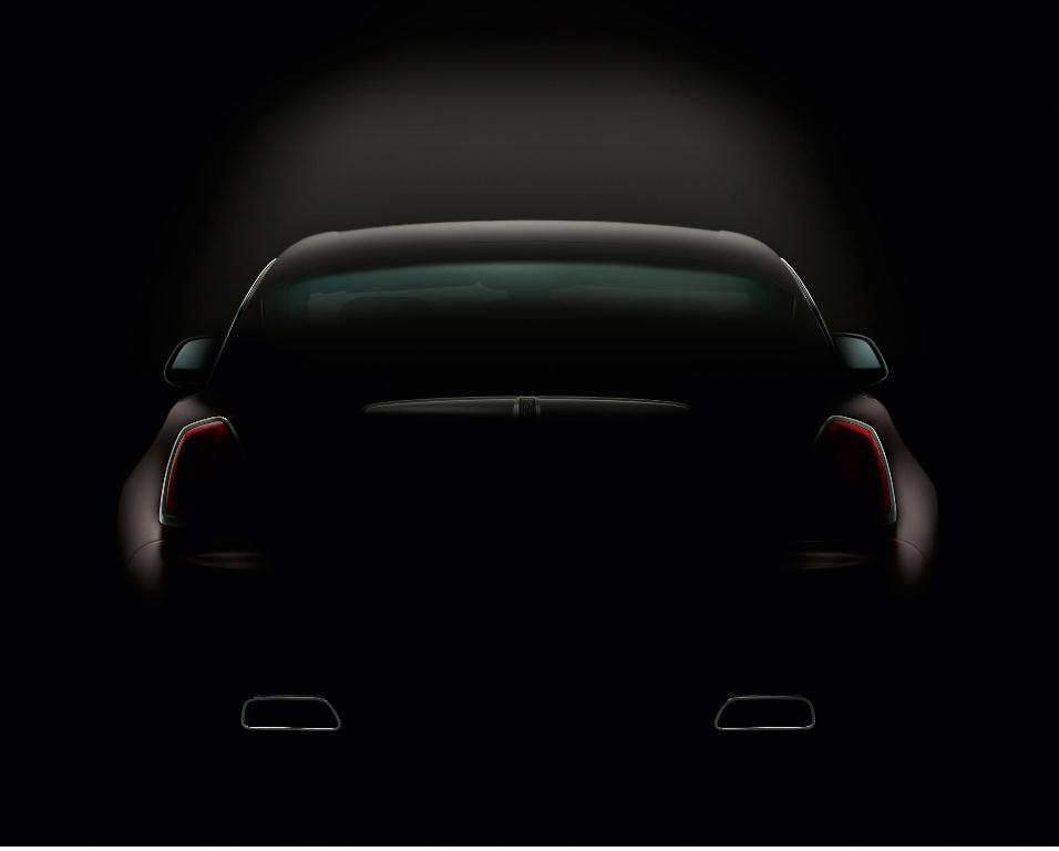 Rolls-Royce Teases with Second Image of the Rolls Royce Wraith