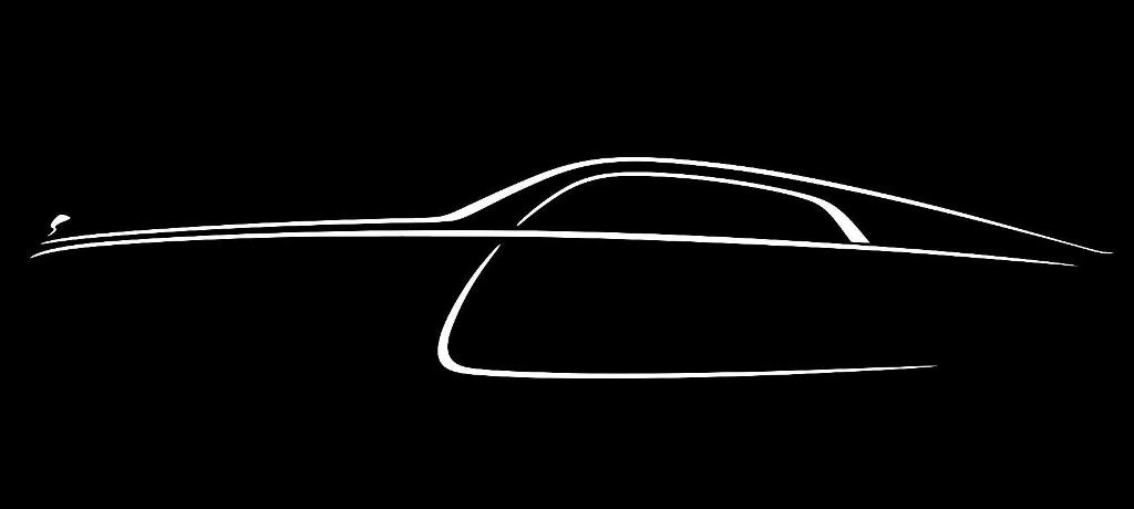 Final Teaser Pic of the Rolls-Royce Wraith Fastback