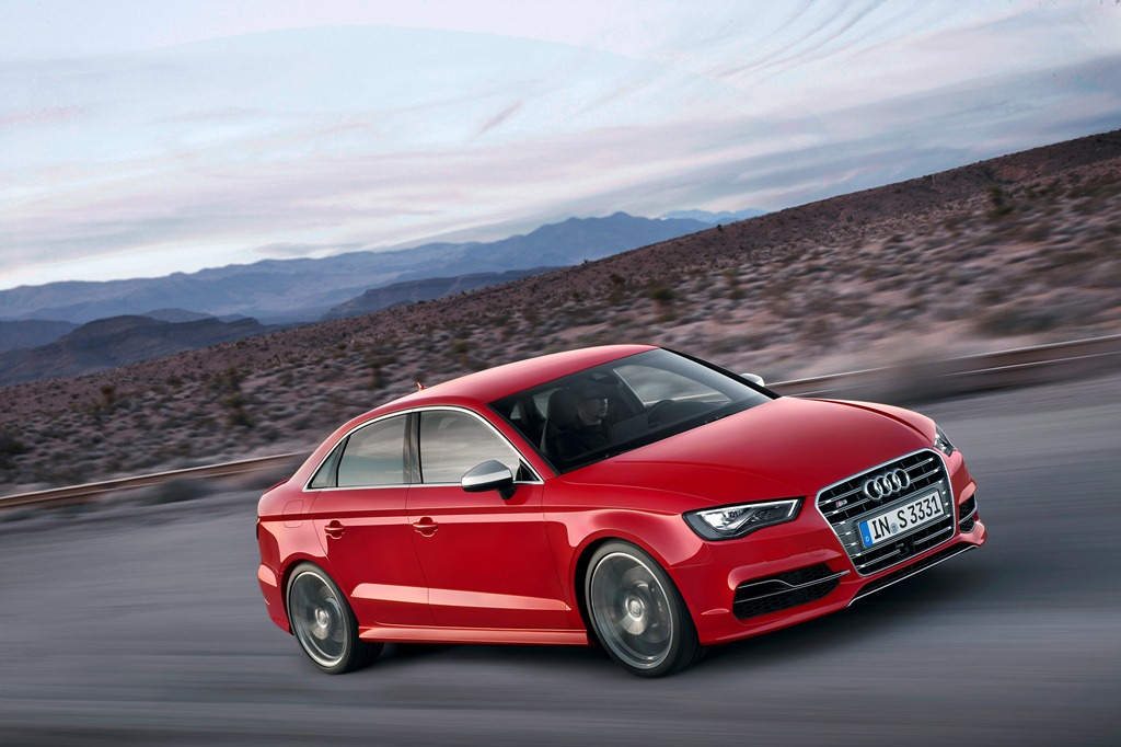 Covers Off on the New Audi A3 Sedan