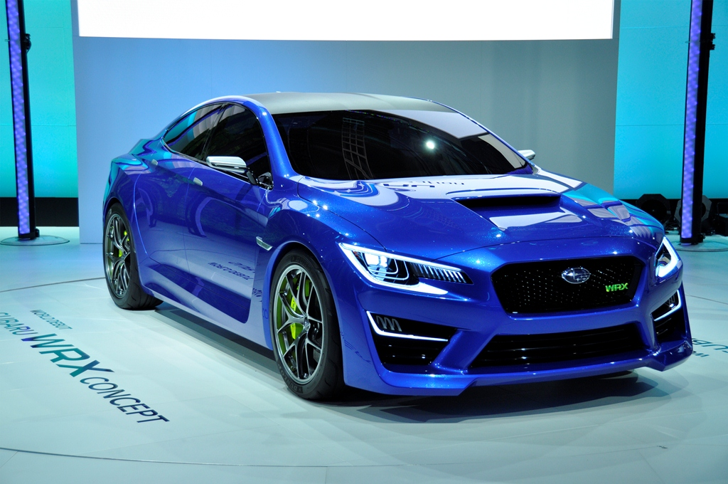 The Subaru WRX Concept – Make It a Production Vehicle Pretty Please